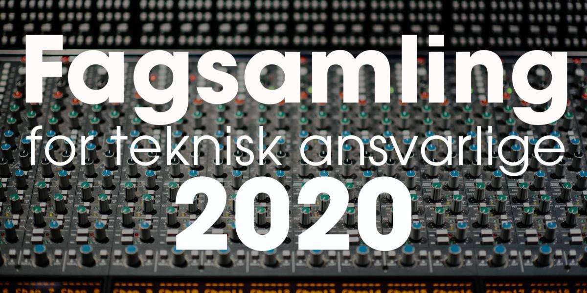 Teknisk fagsamling bilde 2020
